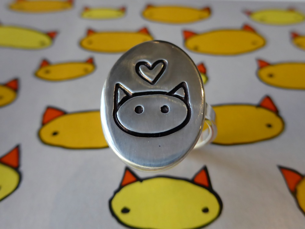 Mark Poulin Love Cat Ring | www.thesmallworld.com.au