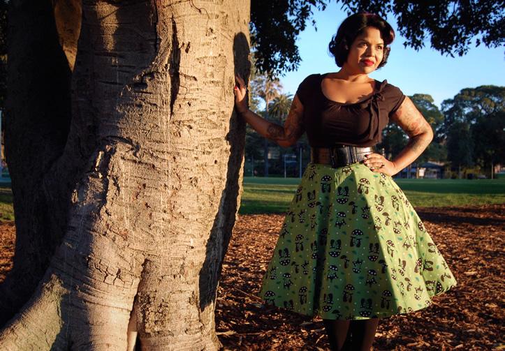 Voodoo Vixen skirt | www.thesmallworld.com.au