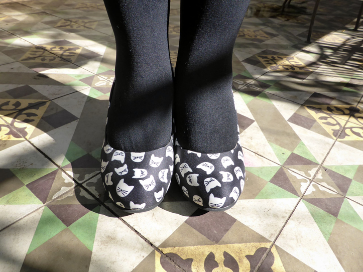 T.U.K Kitty Face Shoes | www.thesmallworld.com.au